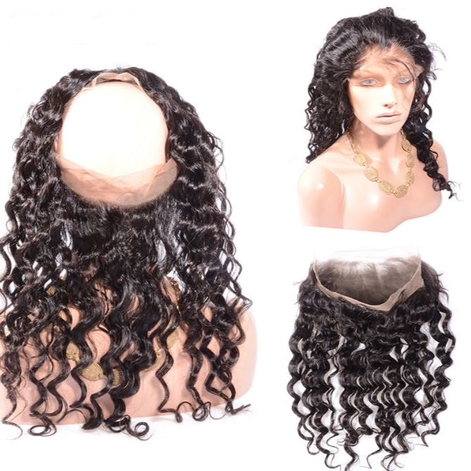 krullig 360 lace frontal