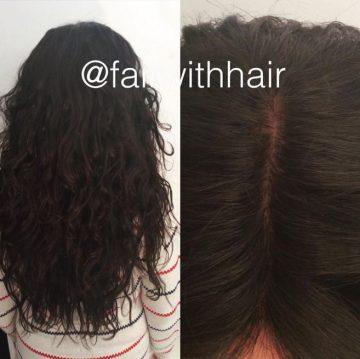 silk base closure hårförlängning