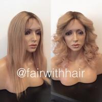 peruk äkta hår