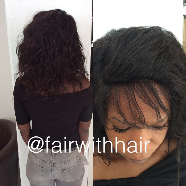Full weave med lace frontal