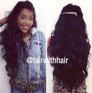 Full-weave-by-360-frontal