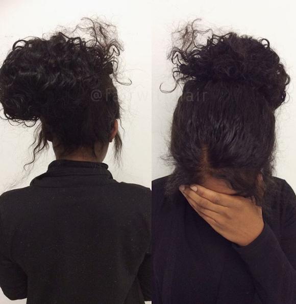 360 frontal hårförlängning
