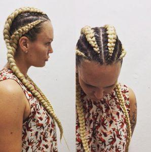 4 cardashian braids